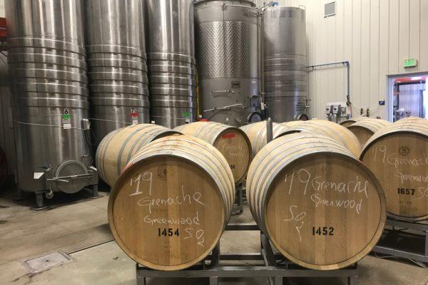 barrels chalked